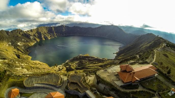 Quiltoa Lake, Ecuador